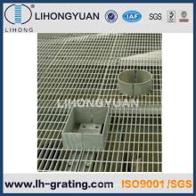 Verzinkte Stahlgitter Gehweg für Industrie-Fußboden