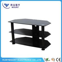 Muebles baratos de diseño de mesa de TV de esquina para TV