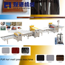 Composite panel hot melt laminating machine