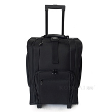 KC-N46S Portable Nylon Maquiagem Case Trolley Com Rodas