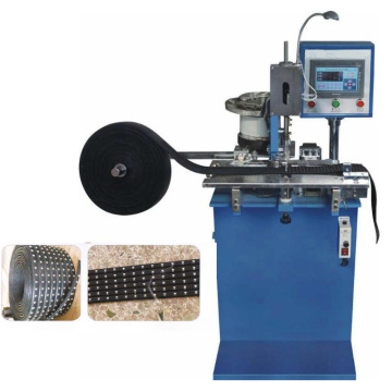 Automatic Pronged Nailheads Attaching Machine