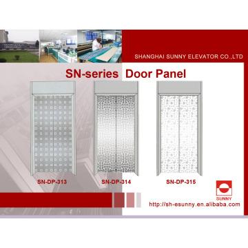Panel de la puerta del elevador con patrón de hojas de arce (SN-DP-313)