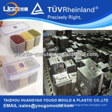 Alimento plástico que guarda la caja fresca / molde plástico de la inyección / molde de la caja de almuerzo / molde plástico de la caja de alimento