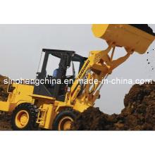 Liugong 0.8m3, 1 carregador agrícola Clg816c da mini tonelada com estrutura forte
