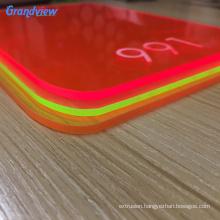 fluorescent beauty design acrylic panels
