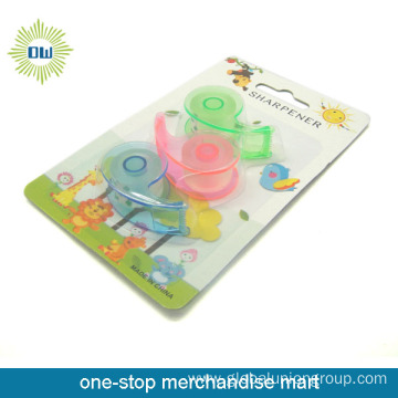 3PCS stationery tapes with 3pcs tape dispenser set