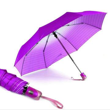 Streifen & sich langsam öffnende und schließende Regenschirme (YS-3FD22083968R)