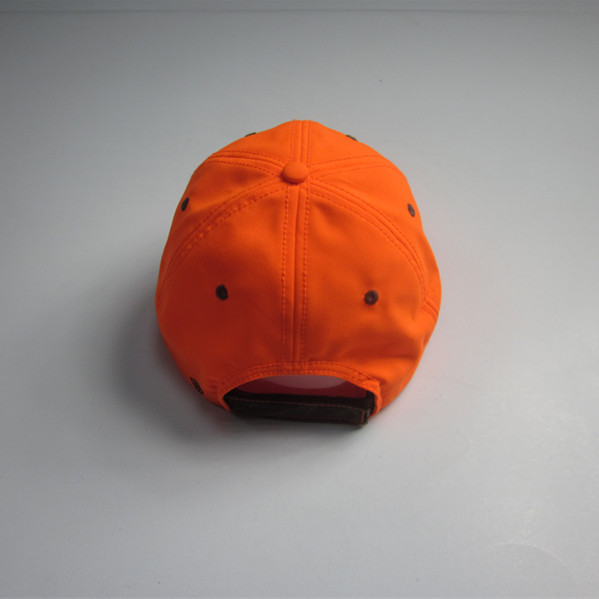 Fashion  Fluorescent Orange Sports Cap