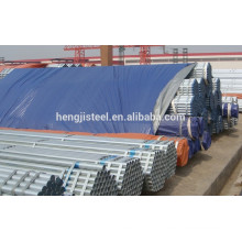 Schedule 40 galvanized round welded steel pipe