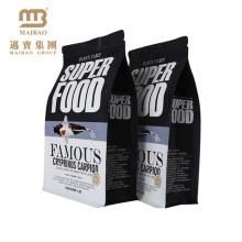 Sacs d'emballage en plastique stratifiés rescellables imprimés par soudure à chaud de coutume de catégorie comestible pour la nourriture de poisson