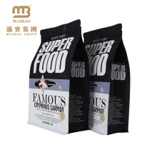 Food Grade Custom Printed Heat Seal Resealable Laminated Plastic Packaging Bags For Fish Food