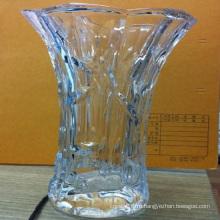 Кристалл стеклянная Ваза для домашнего украшения (Ks80924)
