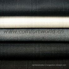 Tissu T / R pour vêtements uniformes