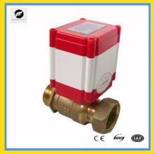 soupape électrique de commande à distance pour les compteurs d'eau à carte IC, compteurs d'énergie thermique et réutilisation de l'eau de pluie et réutilisation du système d'eaux grises