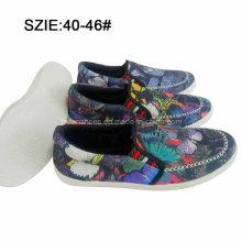 Neueste Mode Herren Slip auf Injektion Freizeit Canvas Schuhe (MP16721-22)
