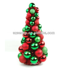 Hand made artificial plastic Christmas ball Tree