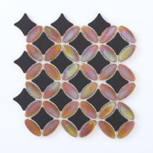 Neue Art Backsplash Fliese Glasmischung Keramik Mosaik