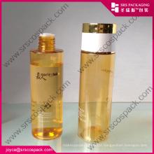 Round Coulor cosméticos plástico PET garrafa 200ml