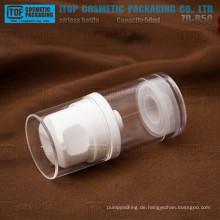 ZB-B50 50ml also kostengünstige starke Lotion Pumpen ausgezeichneten Qualität klar airless 50-ml-Flasche