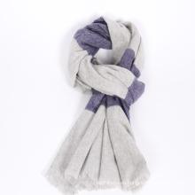 30% de cachemira combina 70% bufanda de moda de lana 2017