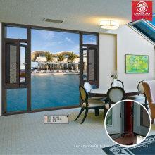 Usine Custom Grills Swing Aluminium Portes et fenêtres pour chambre intérieure, style néerlandais