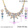 S-7 Xuping 2016 Neueste Design Beliebte Mode Afrikanische Perlen Schmuck Set