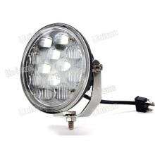 Faro LED redondo de haz alto y bajo de 12 V / 24 V 36 vatios