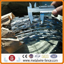 2014 security Hot-dipped galvanized concertina razor wire