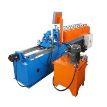 Máquina de quilla de acero con pernos metálicos y riel de luz