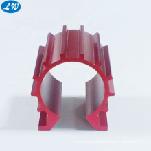 OEM CNC machining anodized aluminum 6061 cold forging aluminum heat sink 7075 t6 cnc
