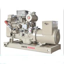 Vereinigen Sie Marine-Generator der Energie-Marke 80kw 100kVA durch Maschine CUMMINS