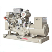 120kw Marine Diesel Generator Powered by 6CTA8.3-GM155 Engine