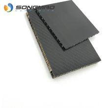 Sandwich panel carbon fiber twill skin aluminum honeycomb core matte gloss