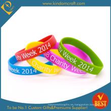 2015 pulsera de silicona para colorear personalizado para la promoción (KD-1817)