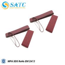 La correa abrasiva de óxido de aluminio para mármol incluye 40-120 grit 10 PACK