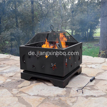 26 in. Deep Bowl Steel Feuerstelle