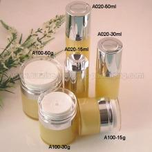 15ml 30ml 50ml Round Rotary Airless Bottle Jar