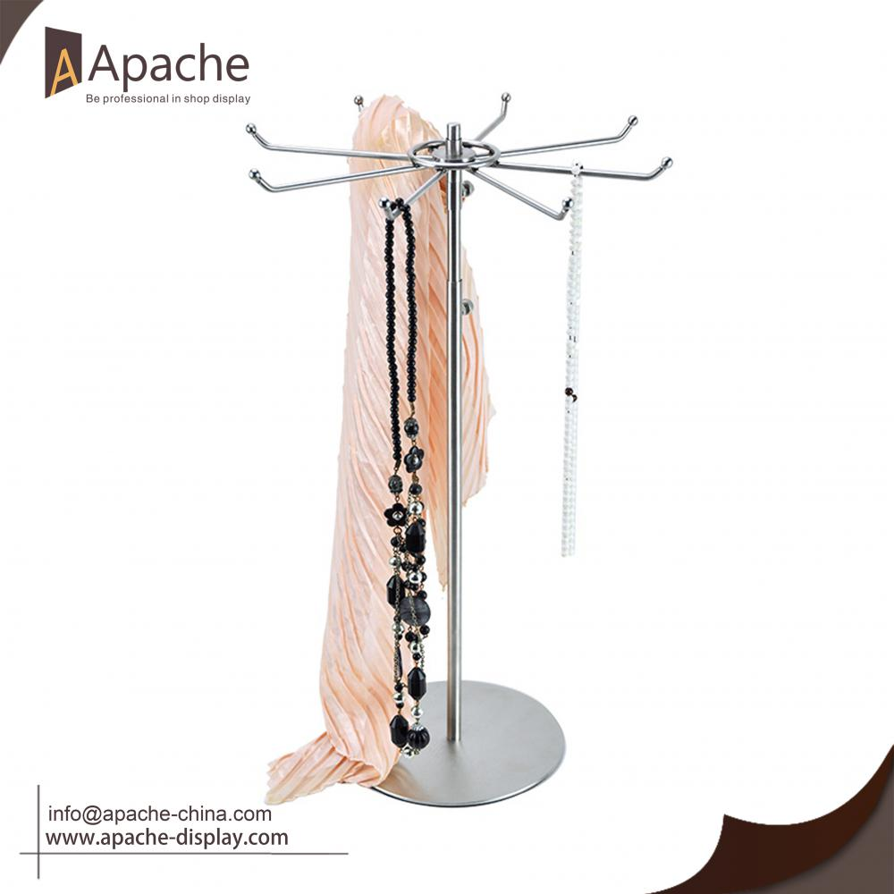 Multi-function Adjustable Jewelry Scarf Metal Wire Rack