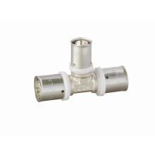 Té réducteur (U) (Hz8113) pour tuyau Pex-Al-Pex (plastique aluminium)