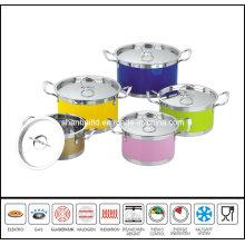 10PCS Color Stock Pot Set