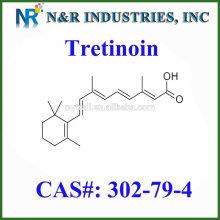 Горячая цена продажи третиноин / витамин кислота / ретиноевая кислота / CAS 302-79-4