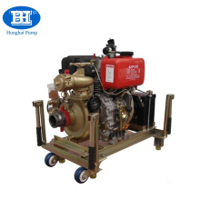 Diesel engine portable fire fighting pump