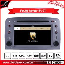 GPS Navigation mit Auto DVD GPS für Alfa Romeo 147 Hualingan