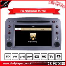Navigation GPS avec Auto DVD GPS pour Alfa Romeo 147 Hualingan