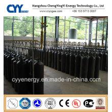 40L 50L Acétylène à haute pression Acétate d'oxygène à l'azote Argon Dioxyde de carbone Cylindre à gaz en aluminium