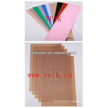 ptfe teflon coated fiberglass fabrics with different thickness