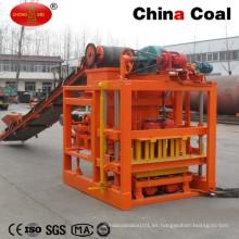 Auto Mini máquina de fabricación de bloques de hormigón