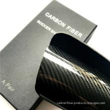 Luxury Durable Soccer Carbon Fiber Shin Guard