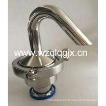 Válvula de liberação de ar sanitária em aço inoxidável