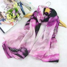 100% silk oblong scarf